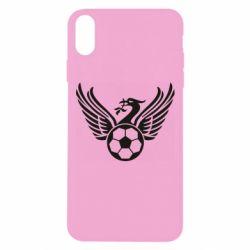 Чохол для iPhone Xs Max Liverpool and soccer ball