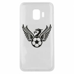 Чехол для Samsung J2 Core Liverpool and soccer ball