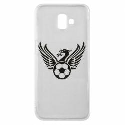 Чохол для Samsung J6 Plus 2018 Liverpool and soccer ball