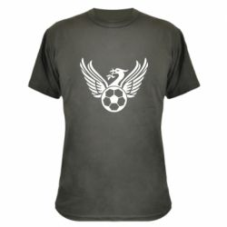 Камуфляжна футболка Liverpool and soccer ball
