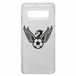 Чохол для Samsung S10+ Liverpool and soccer ball