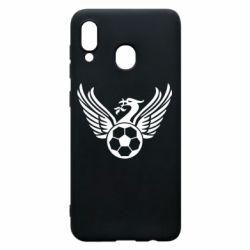 Чохол для Samsung A20 Liverpool and soccer ball