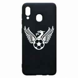 Чохол для Samsung A30 Liverpool and soccer ball
