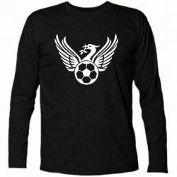 Футболка з довгим рукавом Liverpool and soccer ball