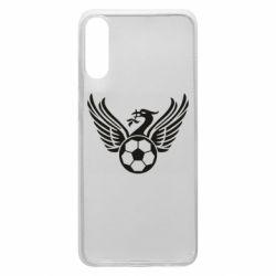 Чохол для Samsung A70 Liverpool and soccer ball