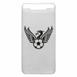 Чохол для Samsung A80 Liverpool and soccer ball