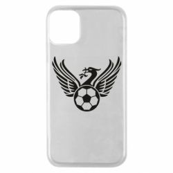 Чехол для iPhone 11 Pro Liverpool and soccer ball