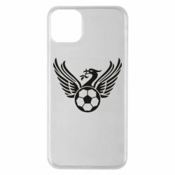 Чехол для iPhone 11 Pro Max Liverpool and soccer ball