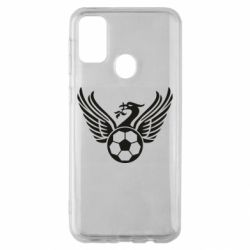 Чохол для Samsung M30s Liverpool and soccer ball