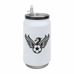 Термобанка 350ml Liverpool and soccer ball