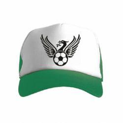 Дитяча кепка-тракер Liverpool and soccer ball