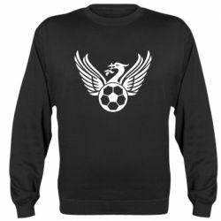 Реглан (світшот) Liverpool and soccer ball