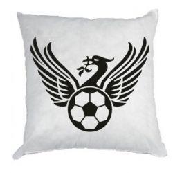Подушка Liverpool and soccer ball