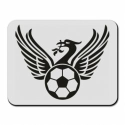 Килимок для миші Liverpool and soccer ball