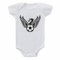 Дитячий бодік Liverpool and soccer ball