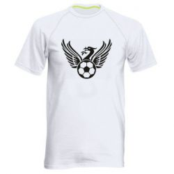 Чоловіча спортивна футболка Liverpool and soccer ball