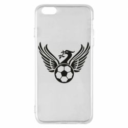 Чехол для iPhone 6 Plus/6S Plus Liverpool and soccer ball