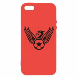Чехол для iPhone5/5S/SE Liverpool and soccer ball