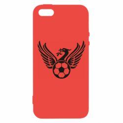 Чохол для iphone 5/5S/SE Liverpool and soccer ball