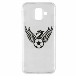 Чохол для Samsung A6 2018 Liverpool and soccer ball