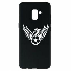 Чохол для Samsung A8+ 2018 Liverpool and soccer ball