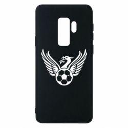 Чохол для Samsung S9+ Liverpool and soccer ball