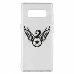 Чохол для Samsung Note 8 Liverpool and soccer ball