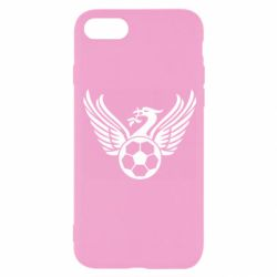 Чехол для iPhone 8 Liverpool and soccer ball