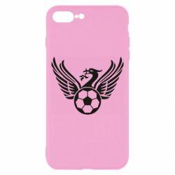 Чохол для iPhone 8 Plus Liverpool and soccer ball
