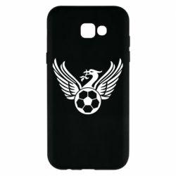 Чохол для Samsung A7 2017 Liverpool and soccer ball