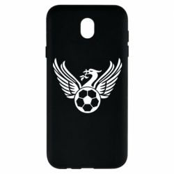 Чохол для Samsung J7 2017 Liverpool and soccer ball