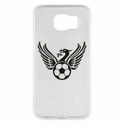 Чохол для Samsung S6 Liverpool and soccer ball