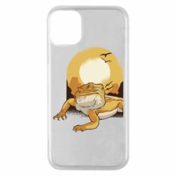 Чехол для iPhone 11 Pro Lizard and desert