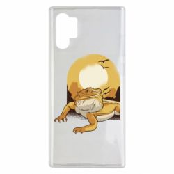 Чехол для Samsung Note 10 Plus Lizard and desert