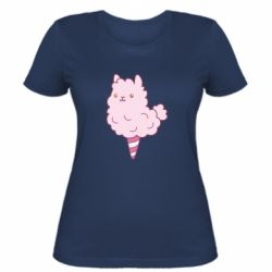 Женская футболка Llama Ice Cream