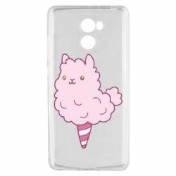 Чехол для Xiaomi Redmi 4 Llama Ice Cream