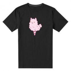 Мужская стрейчевая футболка Llama Ice Cream