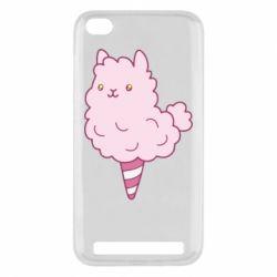 Чехол для Xiaomi Redmi 5a Llama Ice Cream