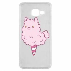 Чехол для Samsung A3 2016 Llama Ice Cream
