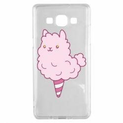 Чехол для Samsung A5 2015 Llama Ice Cream