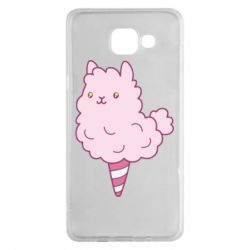 Чехол для Samsung A5 2016 Llama Ice Cream