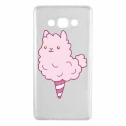 Чехол для Samsung A7 2015 Llama Ice Cream
