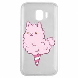 Чехол для Samsung J2 2018 Llama Ice Cream