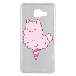 Чехол для Samsung A7 2016 Llama Ice Cream