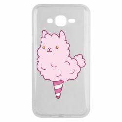 Чехол для Samsung J7 2015 Llama Ice Cream