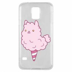 Чехол для Samsung S5 Llama Ice Cream