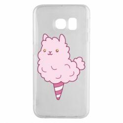 Чехол для Samsung S6 EDGE Llama Ice Cream