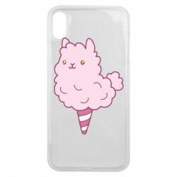 Чехол для iPhone Xs Max Llama Ice Cream