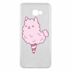 Чехол для Samsung J4 Plus 2018 Llama Ice Cream