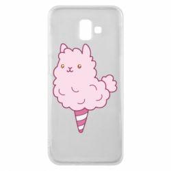 Чехол для Samsung J6 Plus 2018 Llama Ice Cream